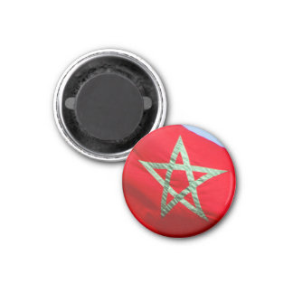 bandera de Marruecos Imanes De Nevera