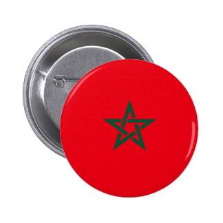 Bandera de Marruecos Pin Redondo 5 Cm