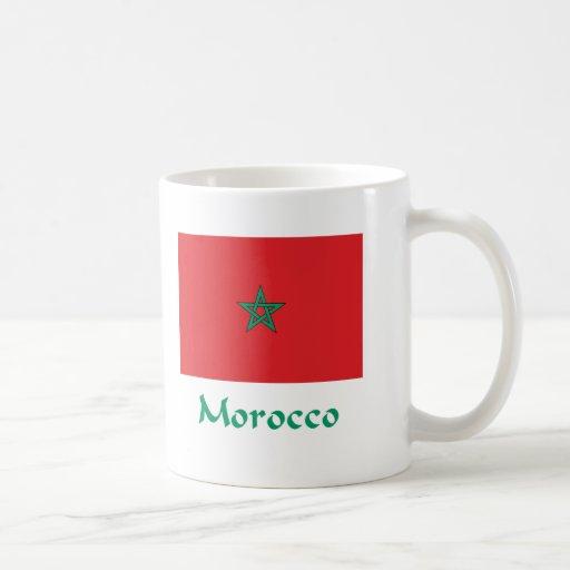 Bandera de Marruecos Taza De Café