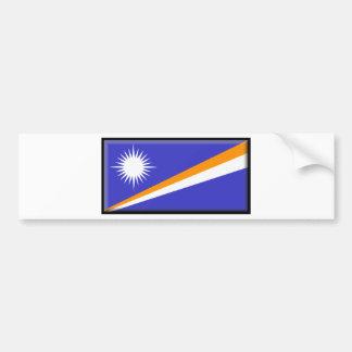 Bandera de Marshall Islands Pegatina Para Coche