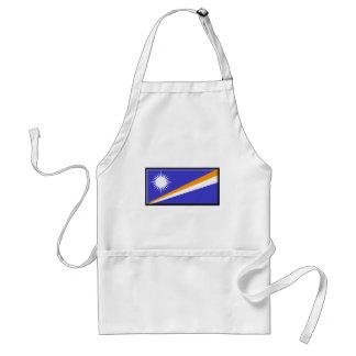 Bandera de Marshall Islands Delantal