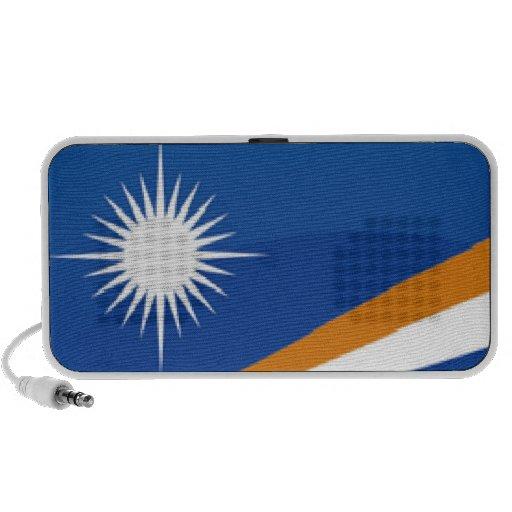 Bandera de Marshall Islands Portátil Altavoz