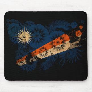 Bandera de Marshall Islands Alfombrillas De Raton