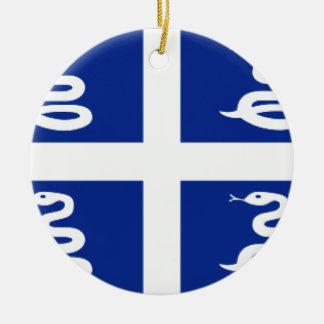 Bandera de Martinica Ornamento Para Reyes Magos