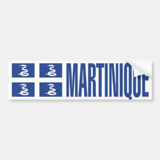 Bandera de Martinica Pegatina Para Auto