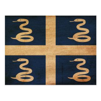 Bandera de Martinica Tarjeta Postal