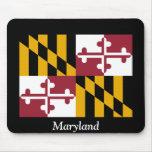 Bandera de Maryland Alfombrilla De Ratones