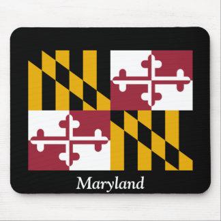 Bandera de Maryland Alfombrillas De Ratones