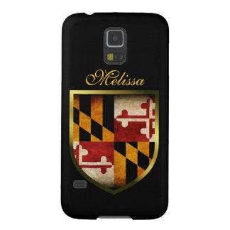 Bandera de Maryland Carcasas De Galaxy S5