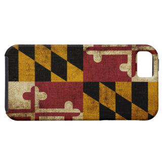 Bandera de Maryland iPhone 5 Cárcasas
