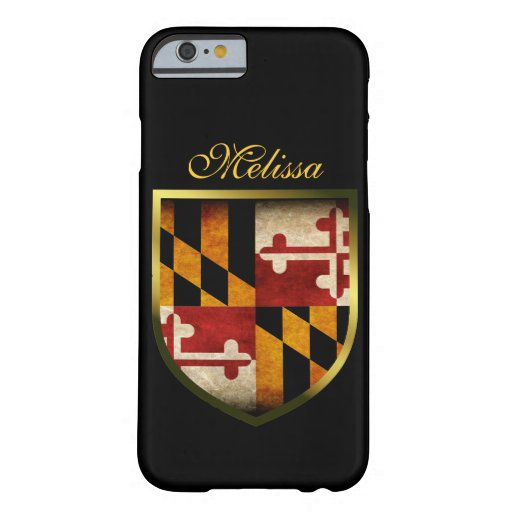 Bandera de Maryland Funda De iPhone 6 Barely There