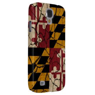 Bandera de Maryland Funda Para Galaxy S4