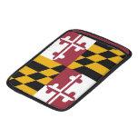Bandera de Maryland Fundas Para iPads