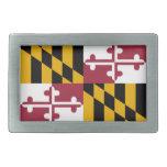 Bandera de Maryland Hebillas De Cinturón