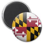 Bandera de Maryland Imán Para Frigorifico