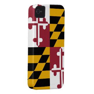 Bandera de Maryland iPhone 4 Case-Mate Cárcasa