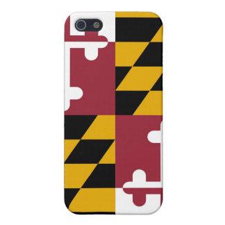 Bandera de Maryland iPhone 5 Funda