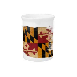 Bandera de Maryland Jarra