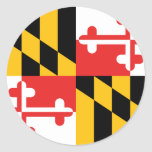 Bandera de Maryland Pegatina