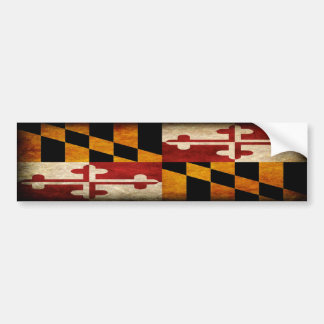 Bandera de Maryland Pegatina Para Auto