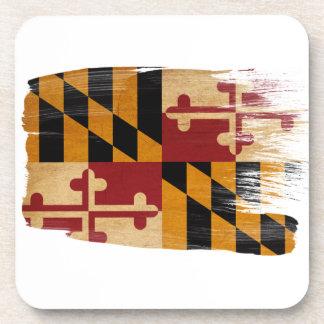 Bandera de Maryland Posavasos De Bebida