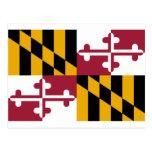 Bandera de Maryland Postal