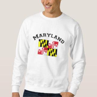 Bandera de Maryland Sudadera Con Capucha