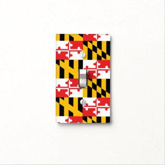 Bandera de Maryland Tapa Para Interruptor