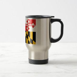 Bandera de Maryland Taza Térmica
