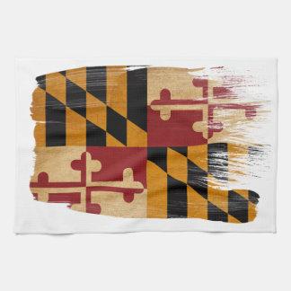 Bandera de Maryland Toalla