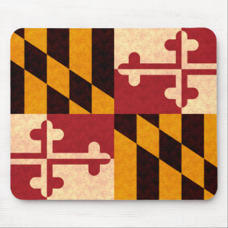 Bandera de Marylander del modelo del vintage Alfombrilla De Raton