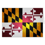 Bandera de Marylander Tarjeta Pequeña