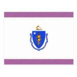 Bandera de Massachusetts Postal