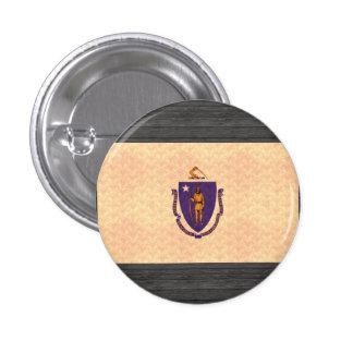 Bandera de Massachusettsan del modelo del vintage Pins