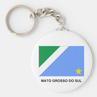 Bandera de Mato Grosso del Sur, el Brasil Llavero