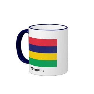 Bandera de Mauricio Tazas De Café