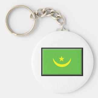 Bandera de Mauritania Llavero