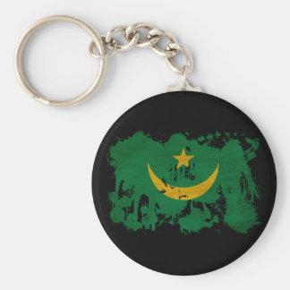 Bandera de Mauritania Llaveros