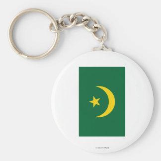 Bandera de Mauritania Llavero Personalizado