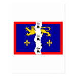 Bandera de Mayenne Postales