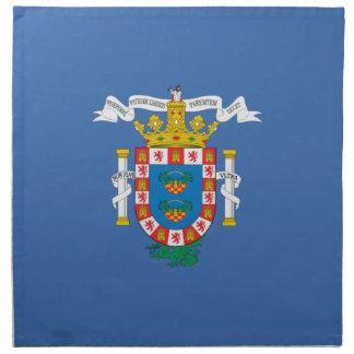 Bandera de Melilla (España) Servilletas De Papel