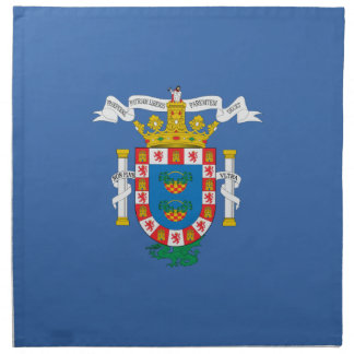 Bandera de Melilla (España) Servilletas