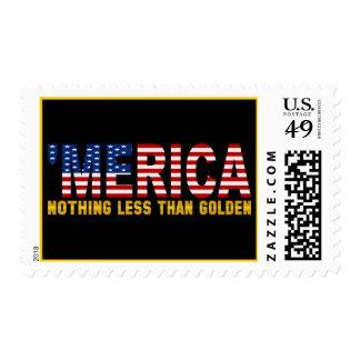 'Bandera de MERICA los E.E.U.U. nada sellos menos