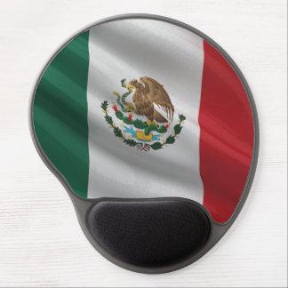 Bandera de México Alfombrillas De Ratón Con Gel