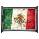 Bandera de México Bandeja