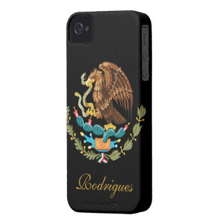 Bandera de México Case-Mate iPhone 4 Coberturas