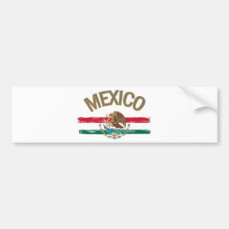 Bandera de México del mexicano Pegatina Para Auto