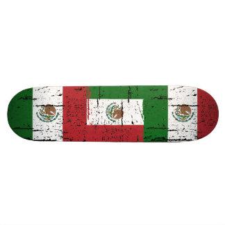Bandera de México del vintage Patín Personalizado