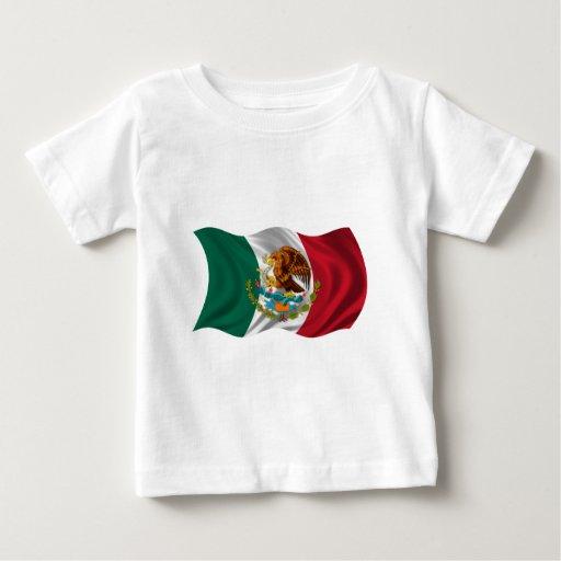 Bandera de México, escudo de armas Playera