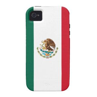 Bandera de México Case-Mate iPhone 4 Funda